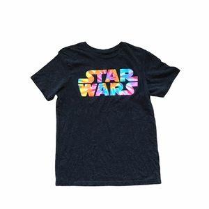 Rainbow Star Wars Graphic T-Shirt